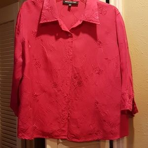 Beautiful hot pink blouse